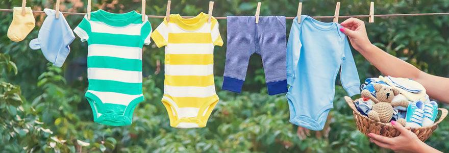 Vêtements d'été pour son bébé